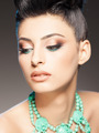professional make-up and hairstyle on beautiful woman - PhotoDune Item for Sale