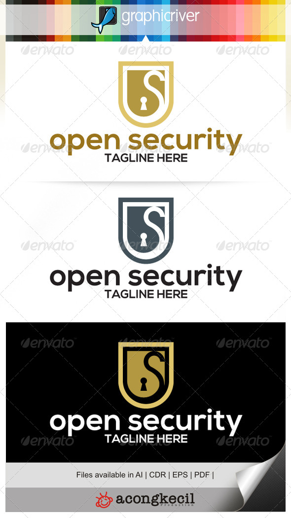 GraphicRiver Open Security 7039901