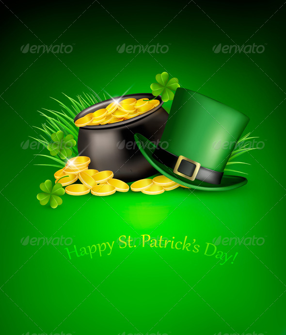 GraphicRiver Saint Patrick s Day Background 7039902