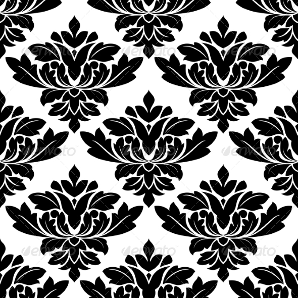 GraphicRiver Damask Style Arabesque Pattern 7039911