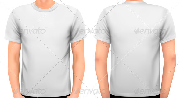 GraphicRiver A Male Body with a White Shirt On 7039996