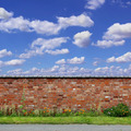 Old Red Brick Wall - PhotoDune Item for Sale