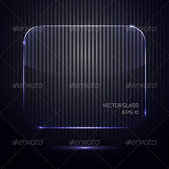 GraphicRiver Glass Banner 7040046