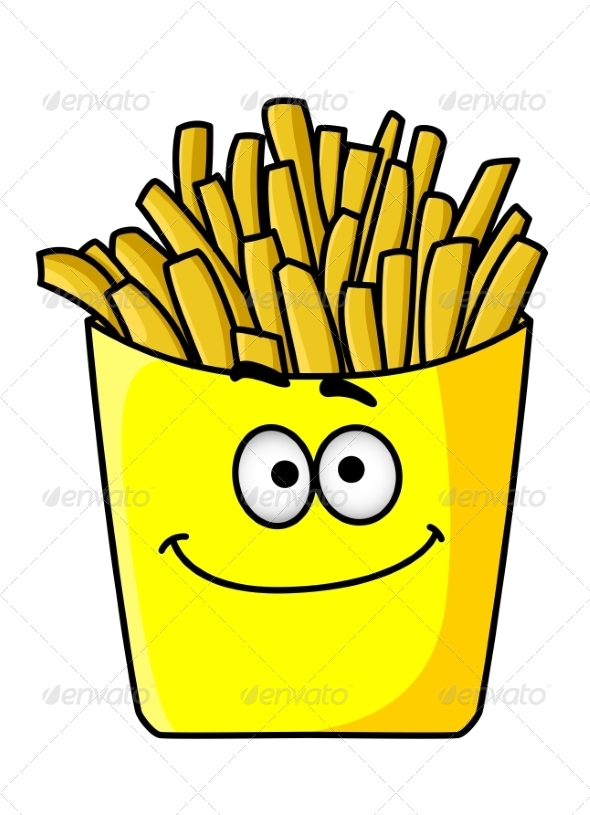GraphicRiver Golden Crispy French Fries in a Packet 7040047