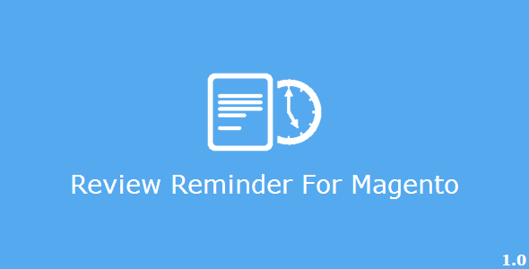 CodeCanyon Review Reminder for Magento 7040106
