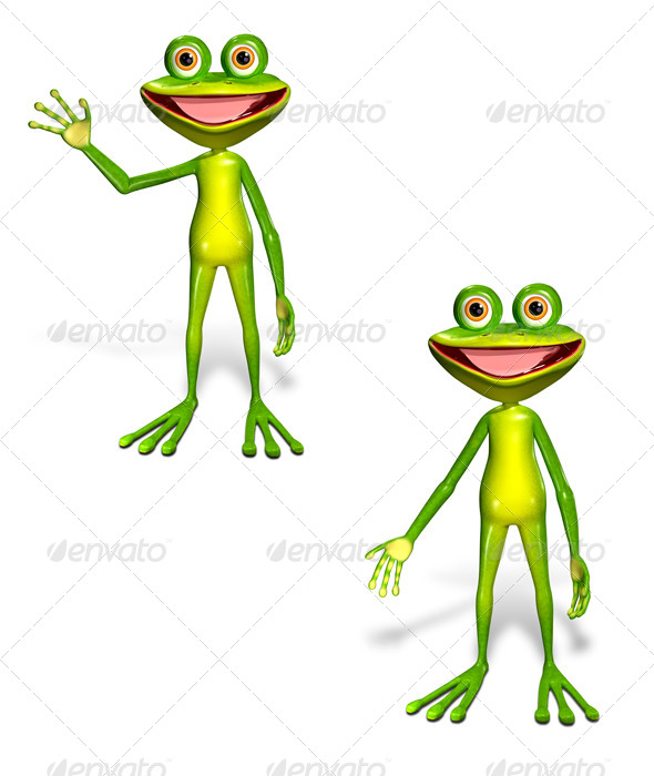 GraphicRiver Green Frog 7040108