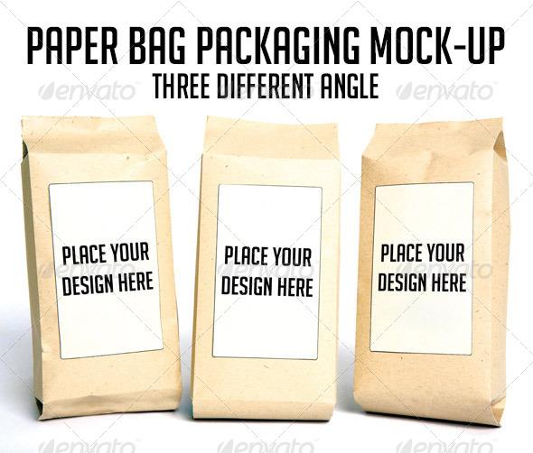 GraphicRiver Paper Bag Packaging Mock-up 7040124