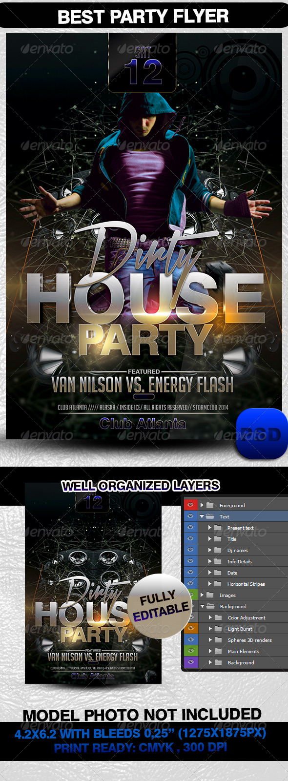 GraphicRiver Best Party Flyer 7040139