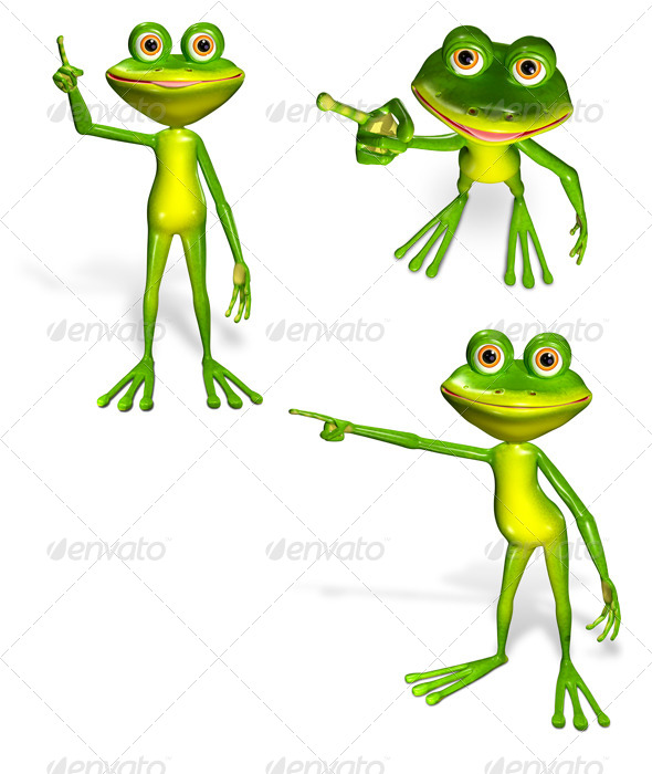 GraphicRiver Green Frog 7040206