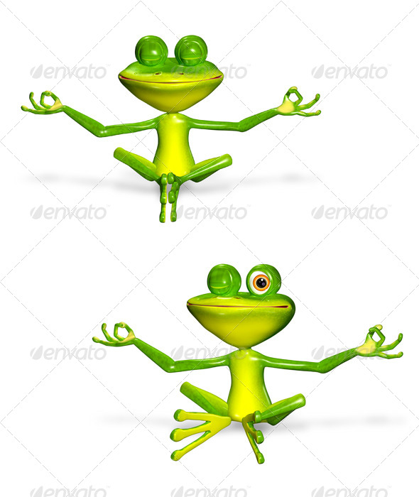 GraphicRiver Green Frog 7040355