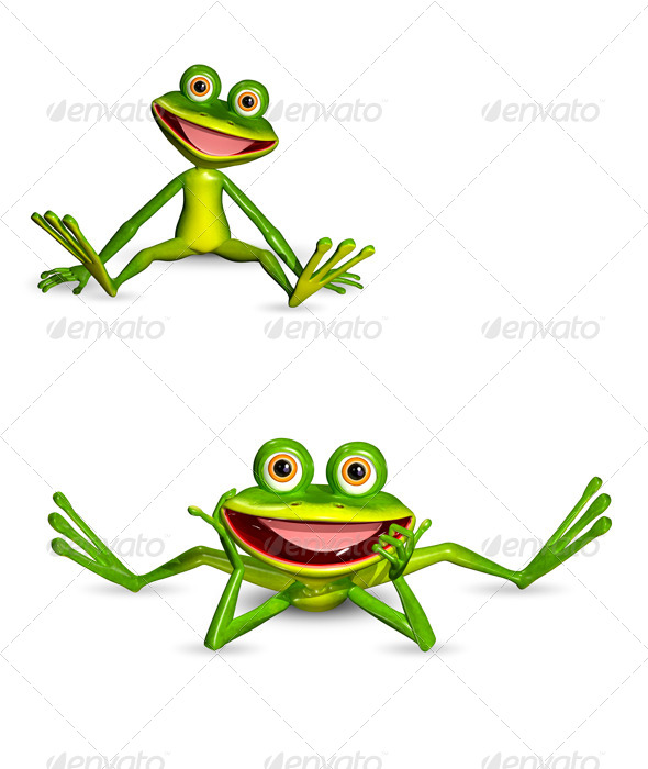 GraphicRiver Green Frog 7040363