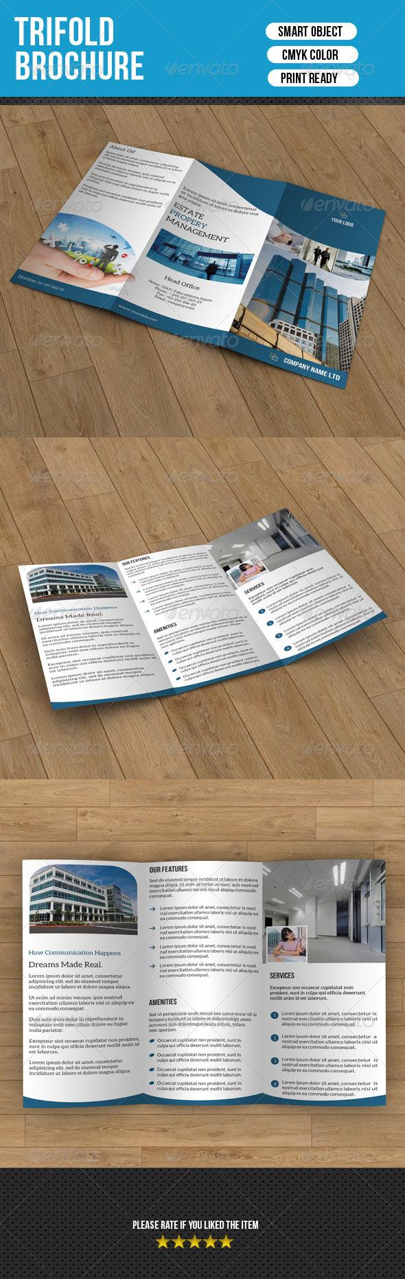 GraphicRiver Real Estate Trifold Template 7040364