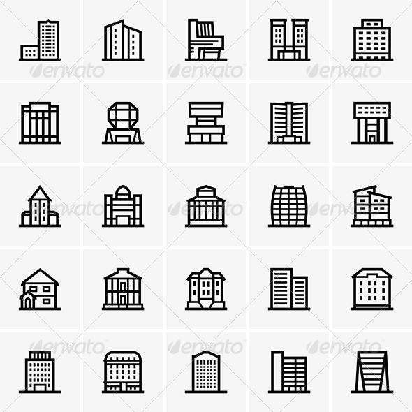GraphicRiver Civil Buildings 7040447