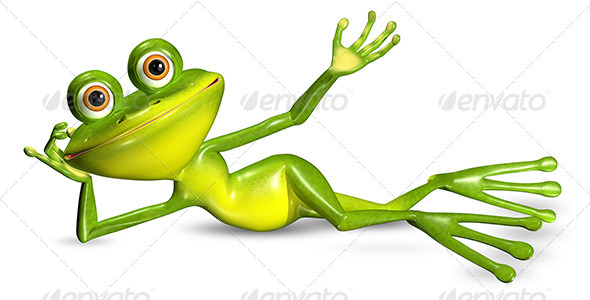 GraphicRiver Green Frog 7040550