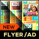 Kids Fitness Camp Flyer Template - GraphicRiver Item for Sale