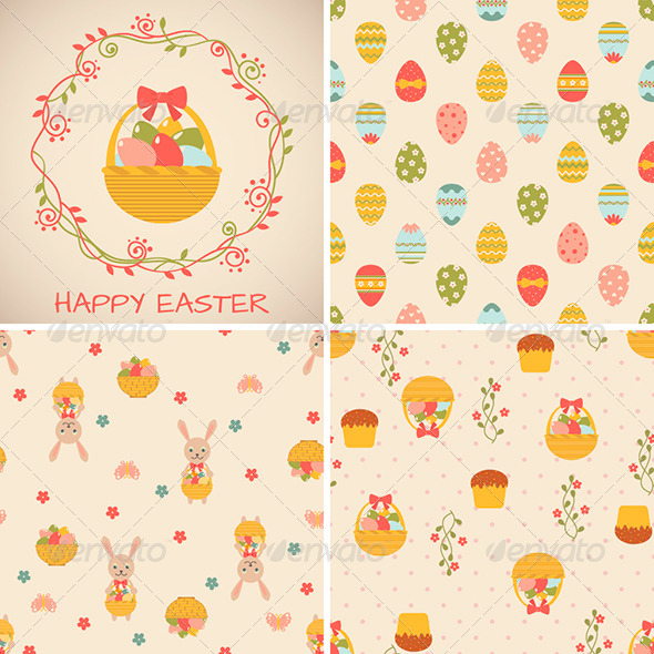 GraphicRiver Easter Set 7040831