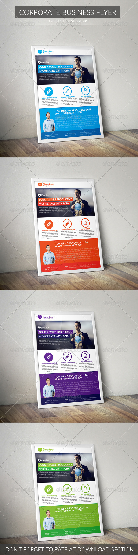 GraphicRiver Corporate Business Flyer 7041089
