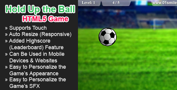 Hold Up the Ball HTML5 Game