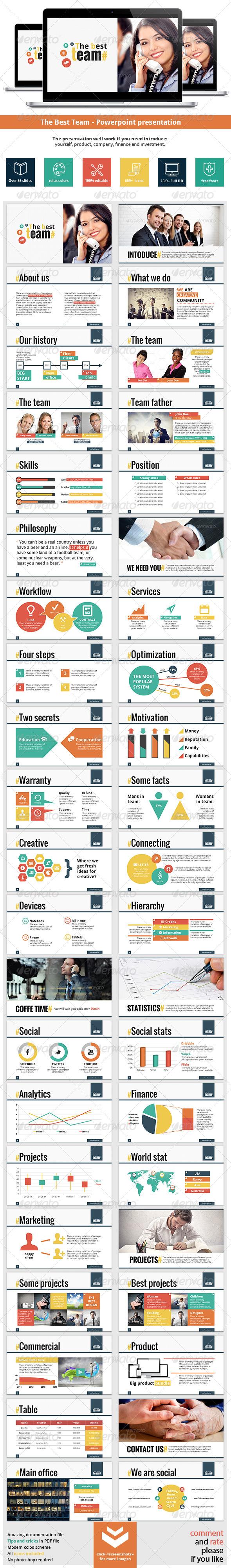 GraphicRiver The Best Team Powerpoint Presentation 7013422