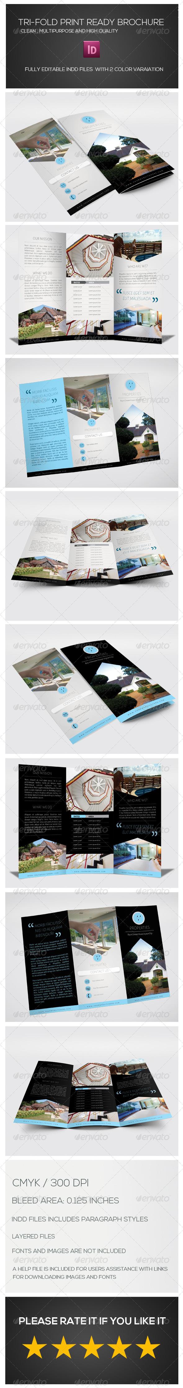 GraphicRiver Tri-fold Multipurpose Brochure 7042074