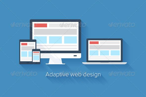 GraphicRiver Adaptive Web Design 7042471