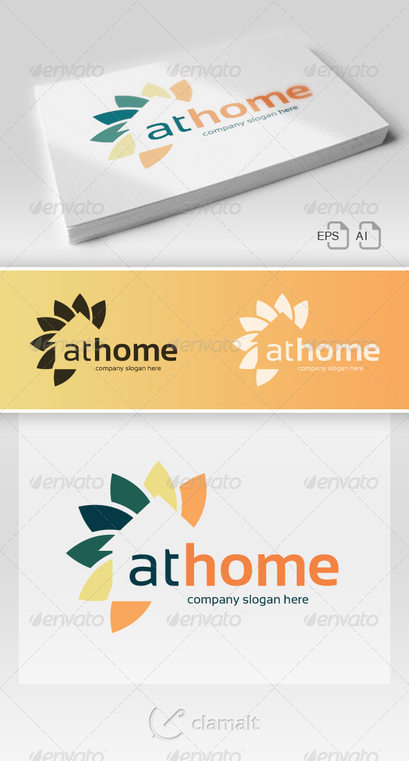 GraphicRiver At Home Logo 6985874