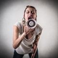 screaming alternative girl - PhotoDune Item for Sale