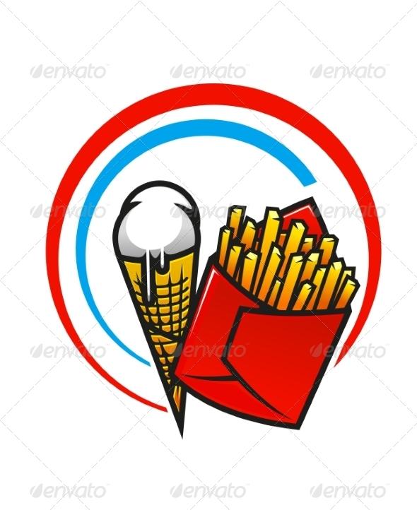 GraphicRiver Fast Food Icon 7042589