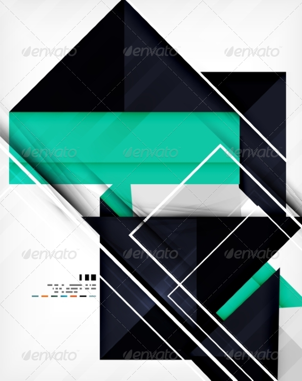 GraphicRiver Geometric Shape Abstract Business Template 7042664
