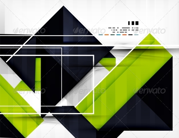 GraphicRiver Geometric Shape Abstract Business Template 7042667