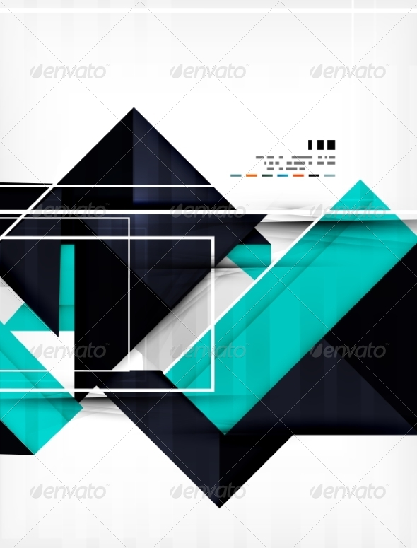 GraphicRiver Geometric Shape Abstract Business Template 7042850