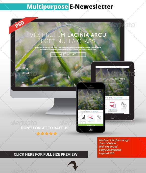 GraphicRiver Multipurpose E-Mail Template 03 7042853