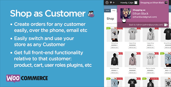CodeCanyon Shop as Customer for WooCommerce 7043722