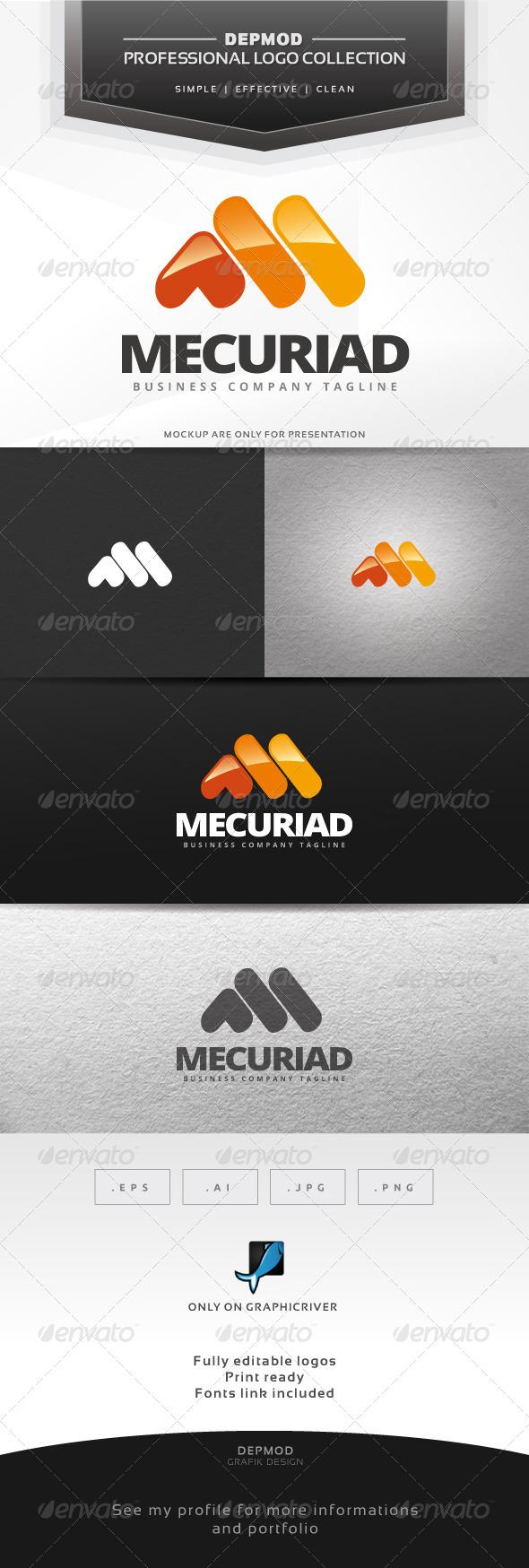 GraphicRiver Mercuriad Logo 7044828