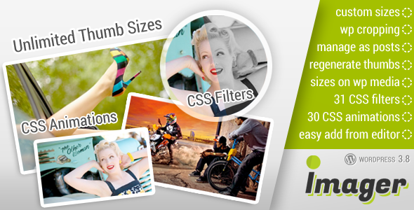 CodeCanyon Imager Amazing Image Tool for WordPress 7044844