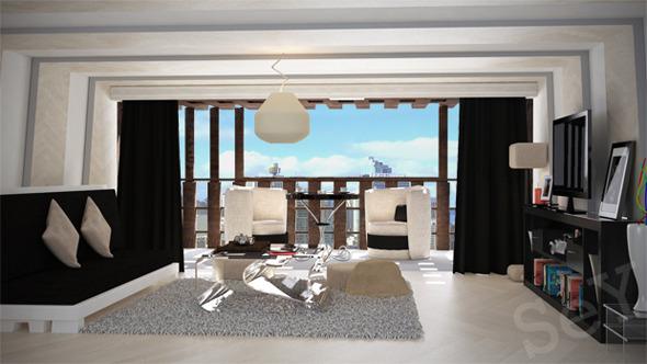 3DOcean Living Room 7010166