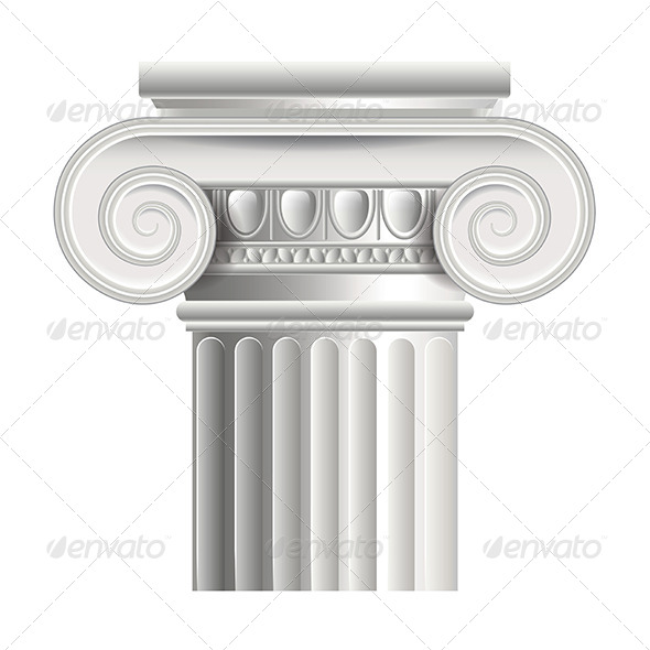 Roman or Greek Column