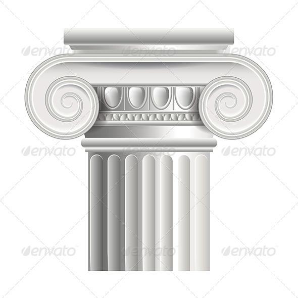 GraphicRiver Roman or Greek Column 7045437