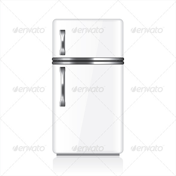 GraphicRiver White Fridge 7045482