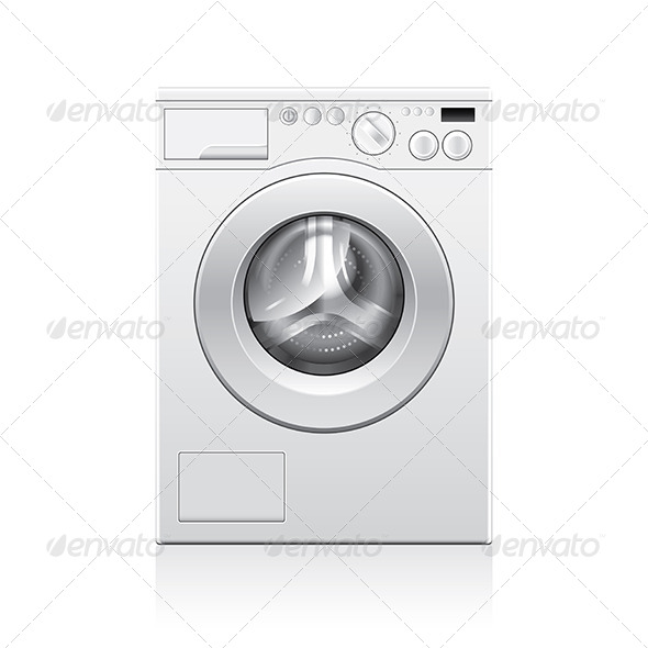 GraphicRiver Washing Machine 7045495
