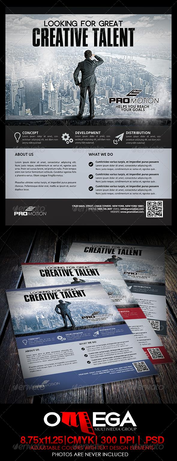 GraphicRiver Creative Talent 7045577