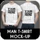 Man T-Shirt Mock-Up - GraphicRiver Item for Sale