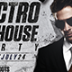Electro And House Party - Flyer