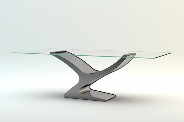Flai Yuri Table - 3DOcean Item for Sale