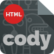 Cody - Responsive Coming Soon Html5 Template - ThemeForest Item for Sale