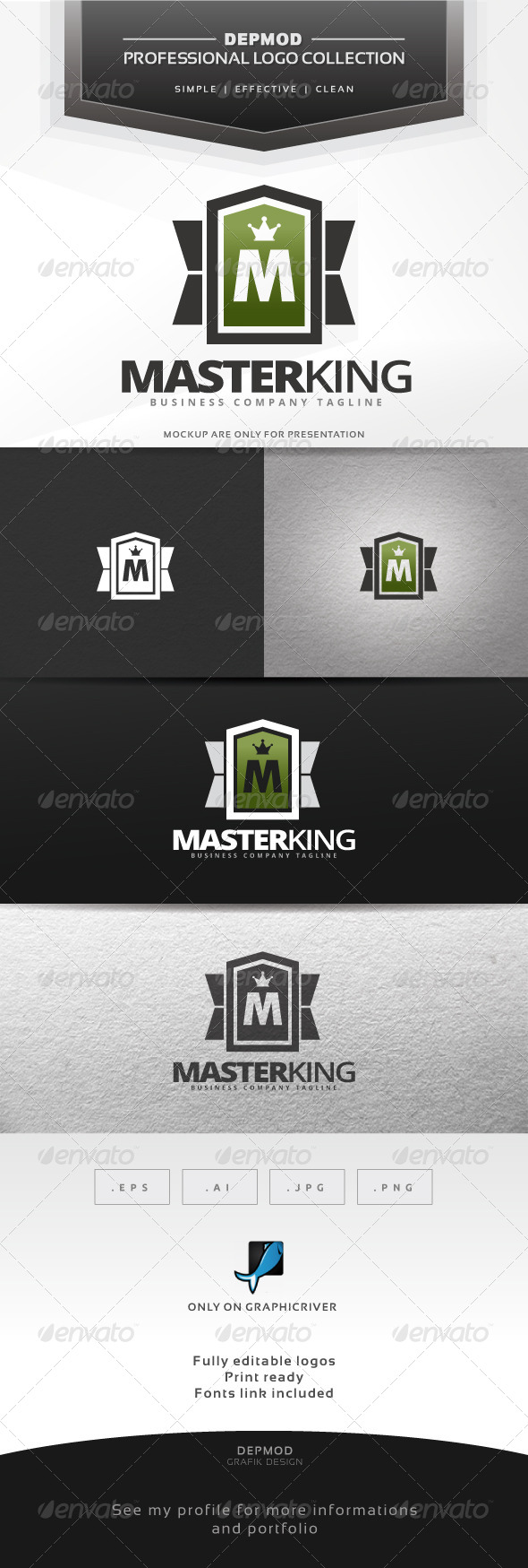 GraphicRiver Master King Logo 7046248