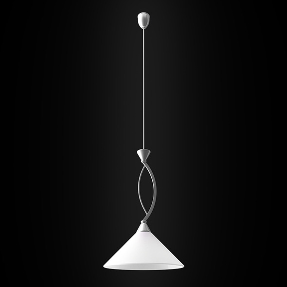 BONA Silver lamp - 3DOcean Item for Sale