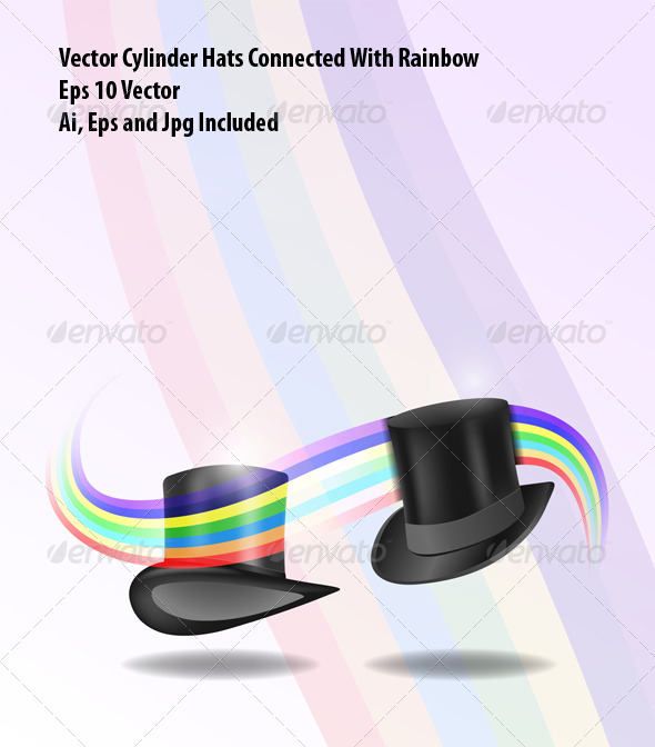 GraphicRiver Cylinder Hats 7046522