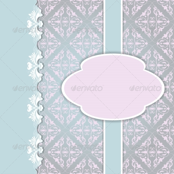 GraphicRiver Floral Card Background 7046562