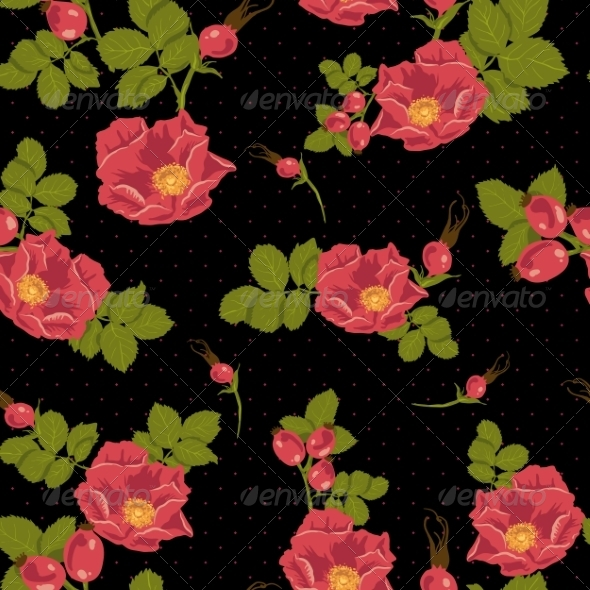 GraphicRiver Floral Seamless Pattern 7046654